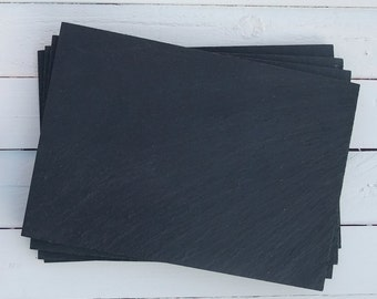 Slate Placemats - set of 4 in gift box