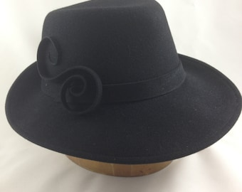 Made to Order - Classic Fedora hand blocked in felt