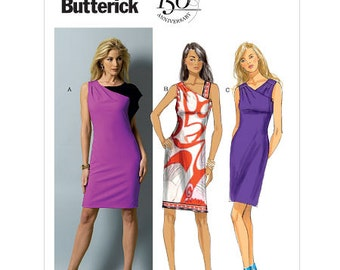 OUT of PRINT Butterick Pattern B5915 Misses' Dress