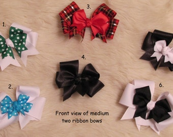 Medium Ribbon Hair Bow