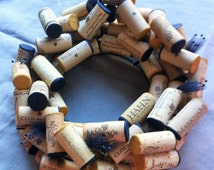 Wine Cork Centerpiece / Wreath (Custom)