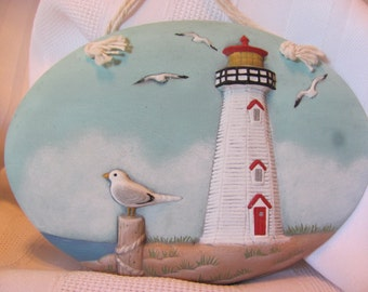 Lighthouse Insert Wall Hanging
