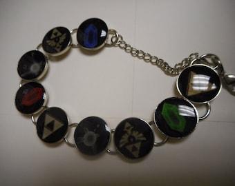 Zelda Triforce Tribute Bracelet