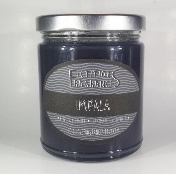 Impala -- Supernatural Inspired 8oz Soy Candle