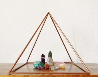 Welded Pyramid Sculpture - Made to Order