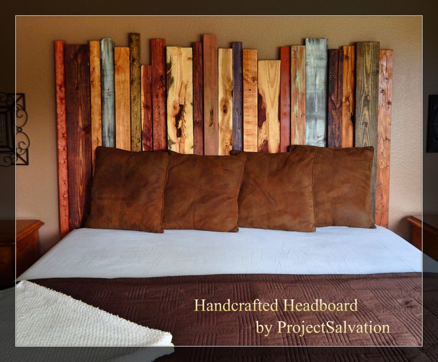 Reclaimed Wood King Size Headboard By Projectsalvation