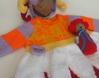 Knitting Pattern For Upsy Daisy : UPSY DAISY KNITTING PATTERN FREE - VERY SIMPLE FREE KNITTING PATTERNS