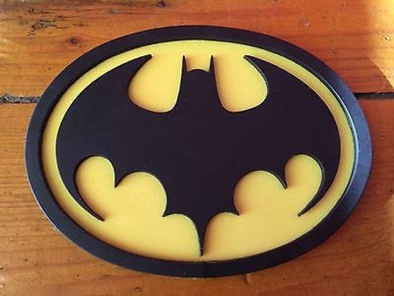 Batman 89 / 1989 Style Emblem chest logo for your cowl