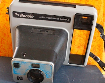 "1977 Vintage Kodak Instant Camera ""The Handle"