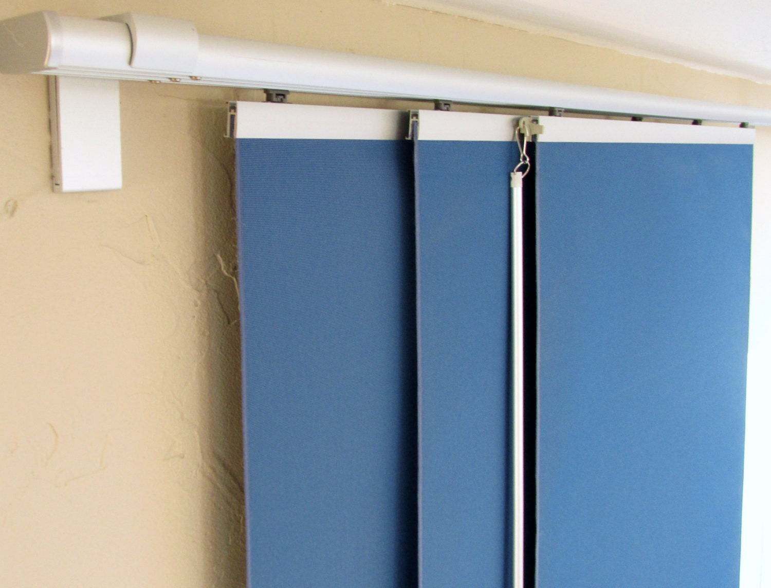 panel curtains sliding rail made to order