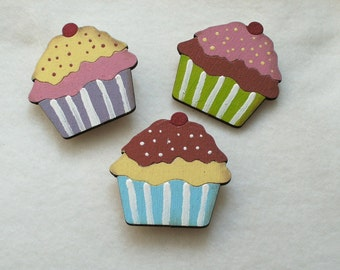 3 Magnets, muffins  (793)