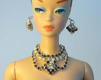 Handmade Fashion doll jewelry set  for Barbie, Reproduction Barbie, Silkstone Barbie and Fashion Royalty NE100047