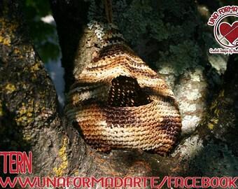Crochet Pattern Bird Nest