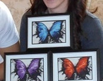 Butterfly. Cross Stitch Pattern. PDF Files.