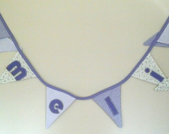 Personalised Room Bunting any colour scheme! - priced per letter