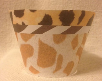 Safari Cupcake Wrappers