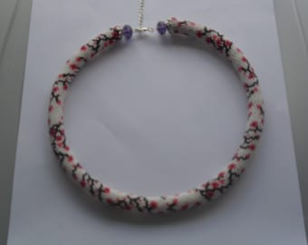 beautyful beaded crochet rope