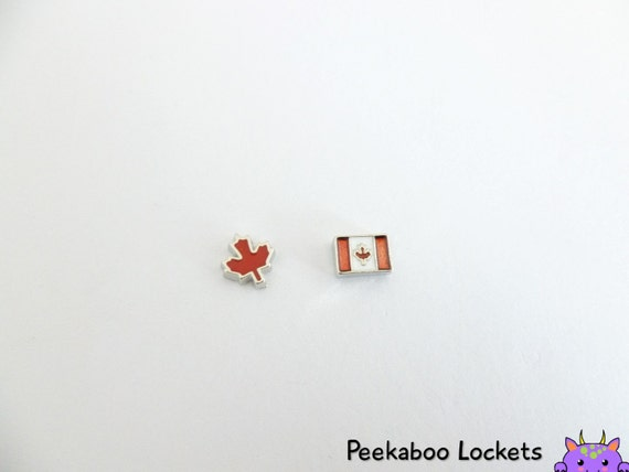 canada country floating charm for memory locket living