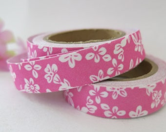 Floral Fabric Tape / Adhesive Decoration Fabric Tape  FT020