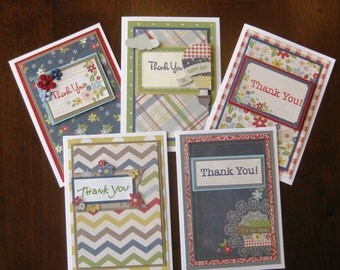 Summer Time Thank You Cards