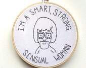 Tina Belcher Embroidery