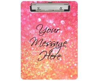 Monogram Clipboard, Dry Erase Board, Custom Clipboard, Boutique Clipboard, Personalized Clipboard, Teacher Gift, Glitter Clipboard