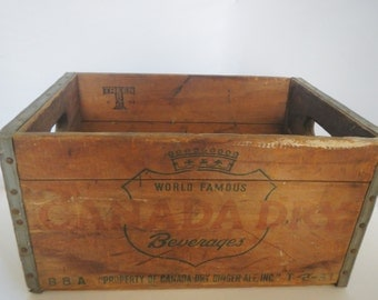 Popular Items For Vintage Canada Dry On Etsy