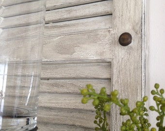 Antiqued Window Shutters
