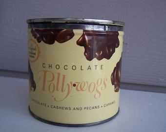 Vintage POLLYWOG Tin
