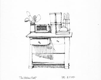 Kitchen Chest (original)