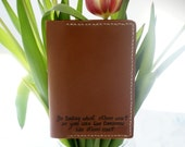 personalized leather passport holder, personalized leather passport cover, personalized leather travel wallet, personalized  travel case