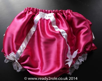 Sissy AB Satin Panties  (SATIN LINED)