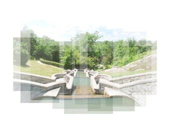 Maymont Park - Richmond, VA - photography, panorama, travel photography, Richmond art, nature photography, Virginia print, Richmond print