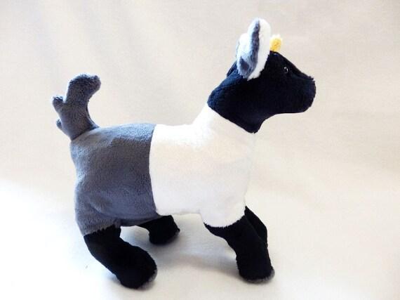 Pygmy goat plush pattern stuffed animal sewing pdf from