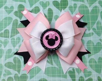 Light Pink Over The Top Minnie Mouse Bow