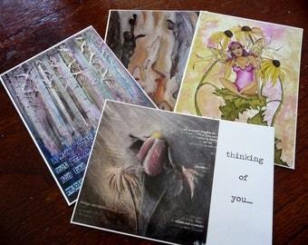 Postcards of Missladypetal's paintings