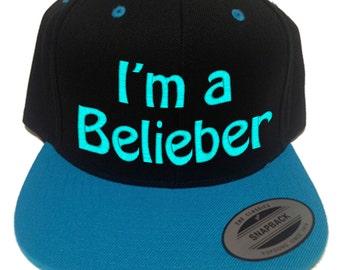 i am a belieber hat, i'm a belieber hat, i love justin bieber hat