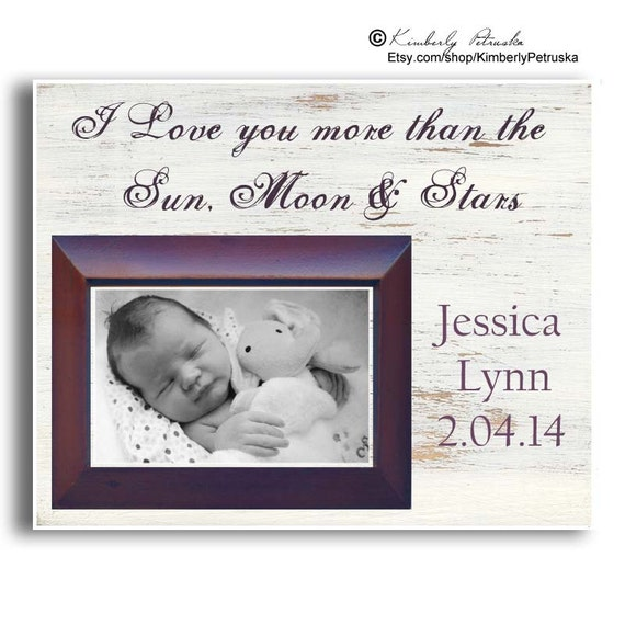 Baby Gift Name Plaque : Items similar to personalized plaque baby gift photo