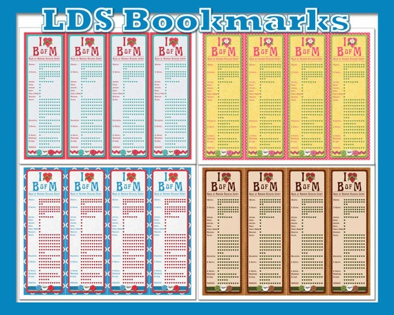 lds bookmarks instant download printable bookmarks