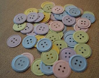 Cute As A Button Confetti