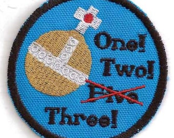 Holy Hand Grenade of Antioch patch