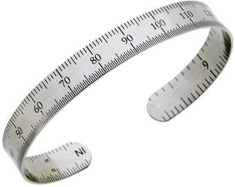 """1/2"""" Ruler Bracelet - Metric"""