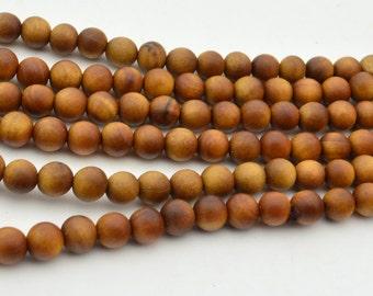 108PC  Sandalwood  6MM   Mala Finding, Buddhism Bead
