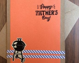 "BBQ Dad ""Happy Father's Day"" Crafty Handmade Card"