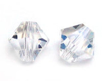 Swarovski 4mm Bicone - Moonlight - Pack 20