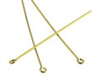 Thin Eye Pins - 5 Colours - 51mm - Pack 50