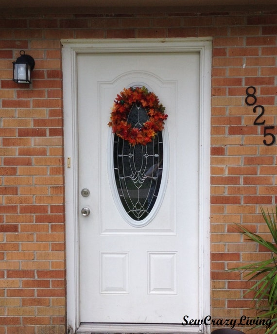 Custom Fall/Floral Wreath