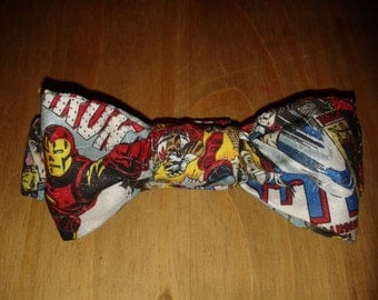 Boys Marvel bow Tie