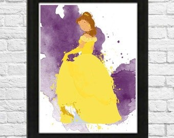 Beauty and the Beast's Belle Poster