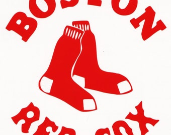 Boston Red Sox  Decal free shipping